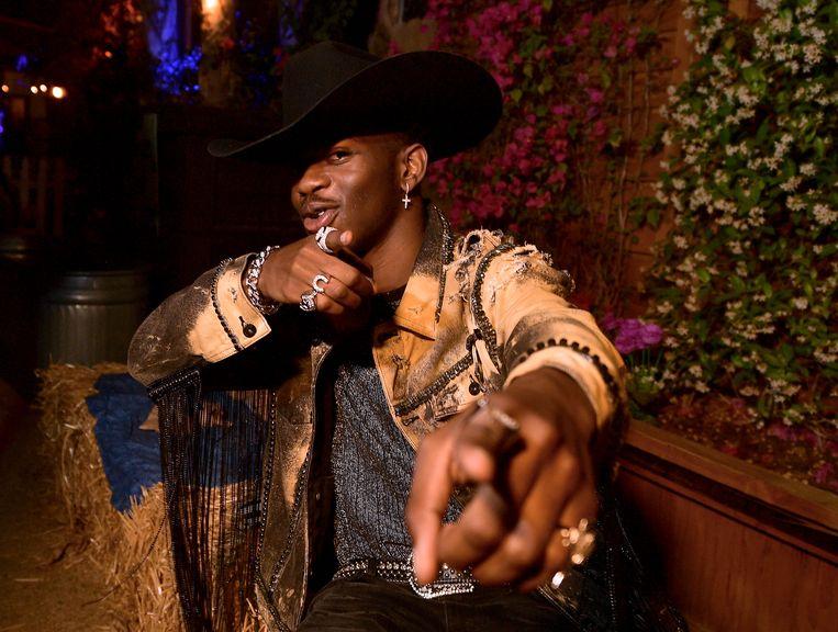 Lil Nas X: 'Ik weet wat mijn publiek wil.' Beeld Getty Images for Stagecoach