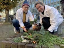 Het kleinste park ter wereld ligt middenin Den Haag en heeft nu ook een minispar