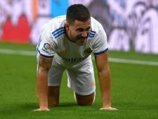Nouvelles inquiétudes pour Eden Hazard, touché au genou selon Carlo Ancelotti
