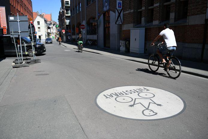 Parijsstraat in Leuven
