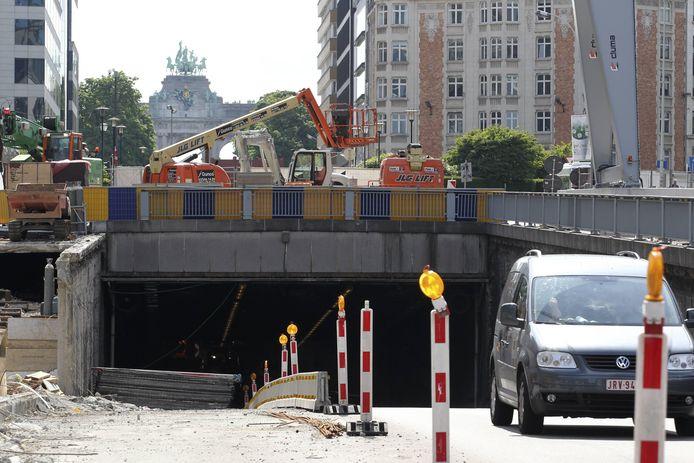 Jubelparktunnel (archiefbeeld ter illustratie)