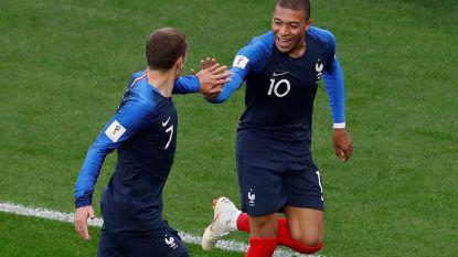 Frankrijk heeft ticket achtste finales beet na krappe zege tegen alweer verdienstelijk Peru