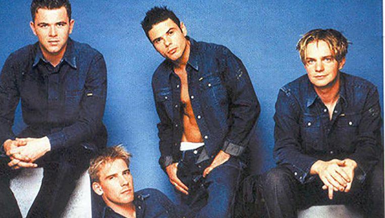 Get Ready! in 2000: Glenn Degendt, Koen Bruggemans, Jean-Marie 'JM' Desreux en Jimmy Samyn.