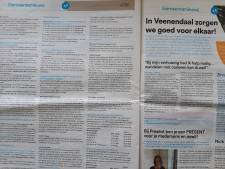Onrust in Veenendaal over stopzetten gemeentepagina in het plaatselijke huis-aan-huisblad