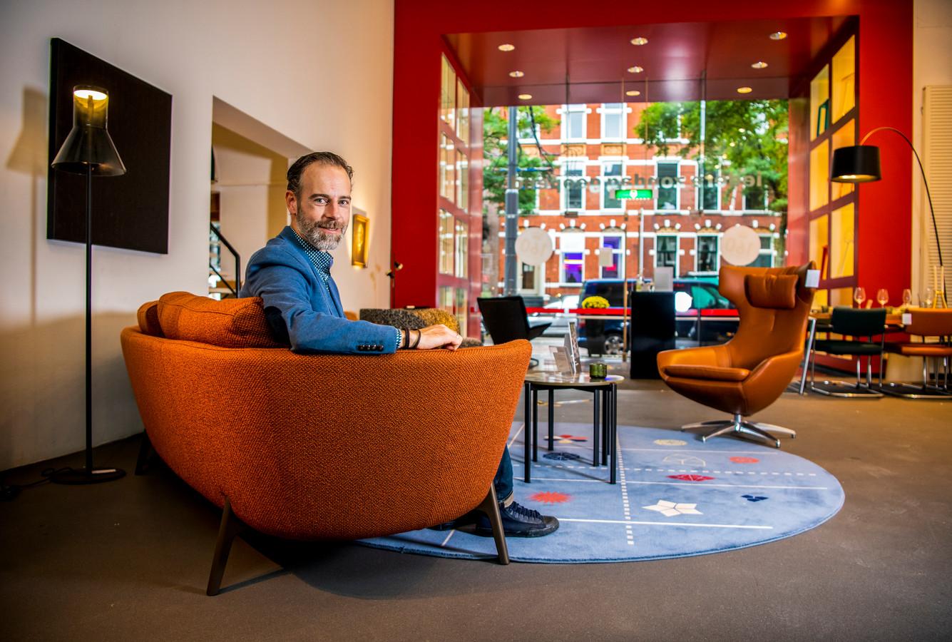 """Jan-Peter Metz van Metz Woninginrichting in Rotterdam: ,,Je moet constant innoveren en vernieuwen."""""""