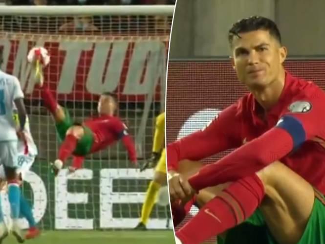 Hattrick voor Ronaldo, maar Union-doelman Moris houdt hem van wereldgoal
