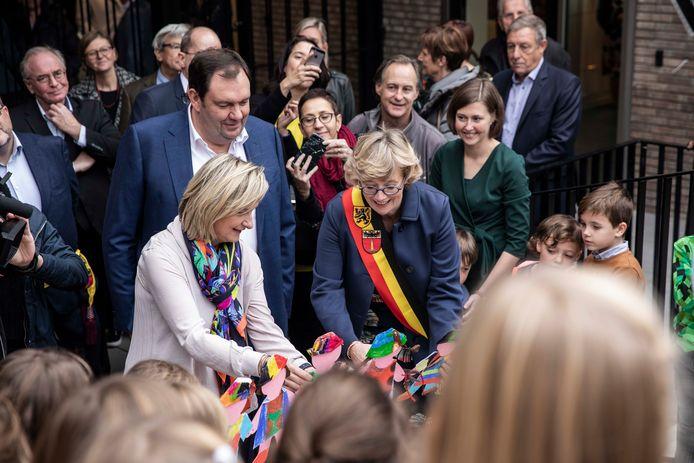 Feestelijke opening GAZO in Sint-Truiden.