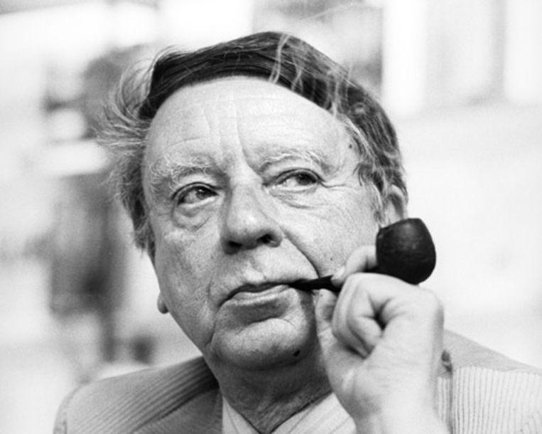 Vlaamse auteur Hubert Lampo (ANP) Beeld
