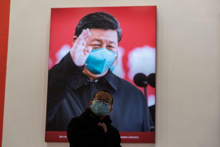 Laten we een onderscheid maken tussen Xi en China, stelt Kristof voor. 'We kunnen kritiek hebben op de leider zonder het land te demoniseren.' Beeld AP