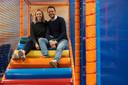 Kristof De Block en Kelly Buyle kochten vorig jaar in maart, net voor de lockdown, 't Mierennest. De binnenspeeltuin was nog maar net geopend of de zaak moest alweer sluiten.