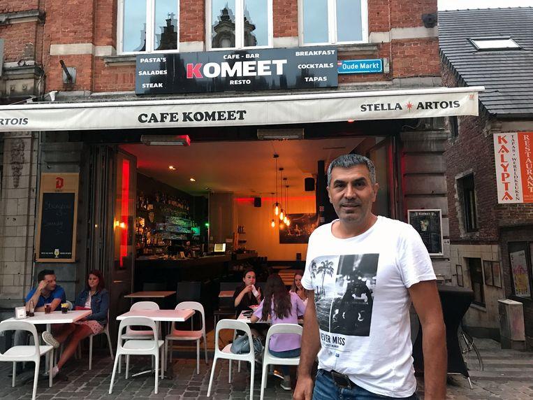Kenan Cakar was 13 jaar lang de uitbater van Komeet maar daar komt nu een einde aan.