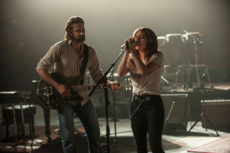 Bradley Cooper & Lady Gaga Beeld AP
