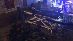 VIDEO. Yoga- en massagesalon in hartje Brugge vernield door brand