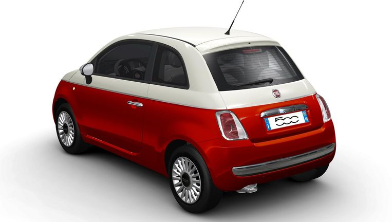 Fiat 500 Beeld