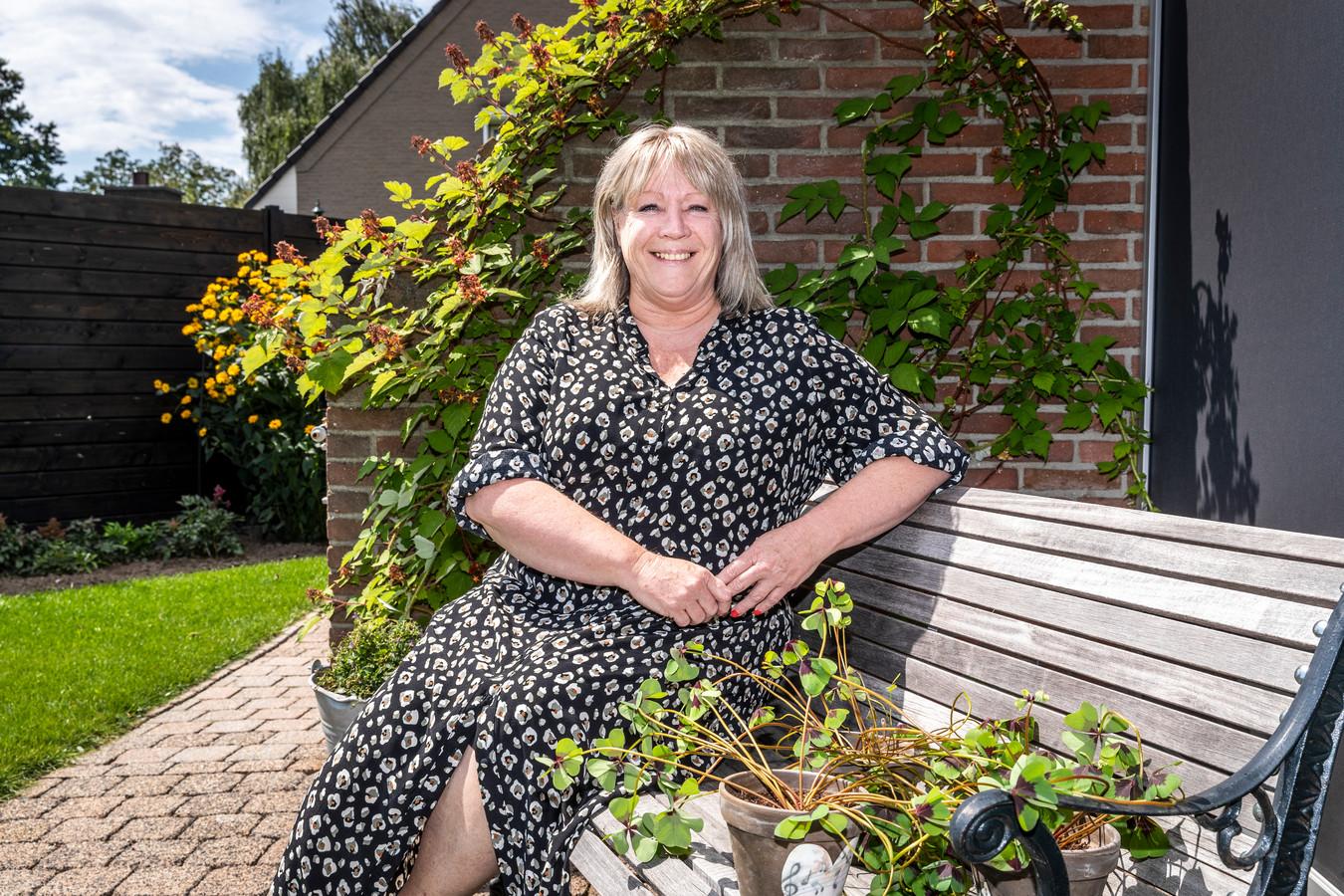 Jubilerend koorlid Jeanne Koolen uit Someren.