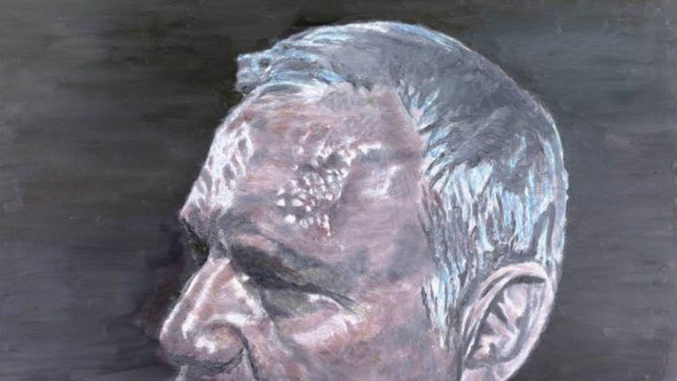 Luc Tuymans: A Belgian Politician (2011) Beeld Luc Tuymans