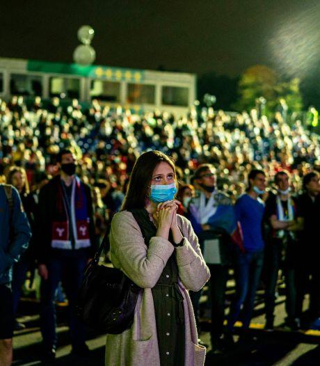 Moscou ferme sa fan-zone de l'Euro à cause d'une résurgence du Covid