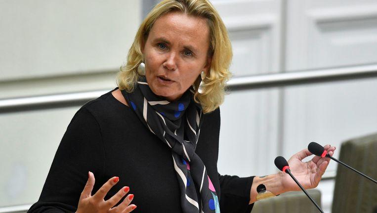 Vlaams minister van Bestuur Liesbeth Homans. Beeld photo_news