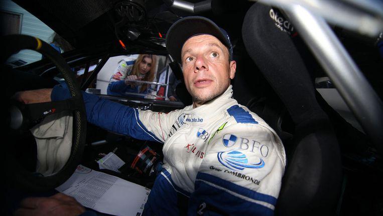 Loix in zijn Peugeot. Beeld BELGA