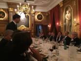 Vertrekkende Van Aartsen dineert in het Mauritshuis
