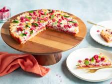 Wat Eten We Vandaag:  Frambozenkokoskoek