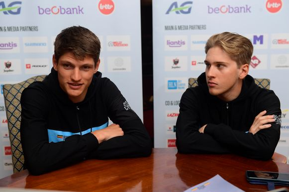 Brent Van Moer en Ilan Van Wilder.