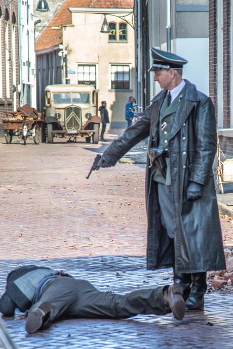 Oorlog in binnenstad van Zwolle