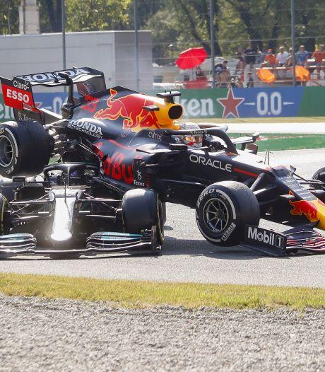 Verstappen over crash met Hamilton: 'Ik wilde racen, maar hij liet dat niet toe'
