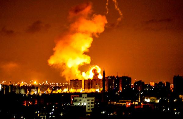 **Hevige gevechten in Gaza tussen Israël en Palestijnen, tientallen raketten afgevuurd**