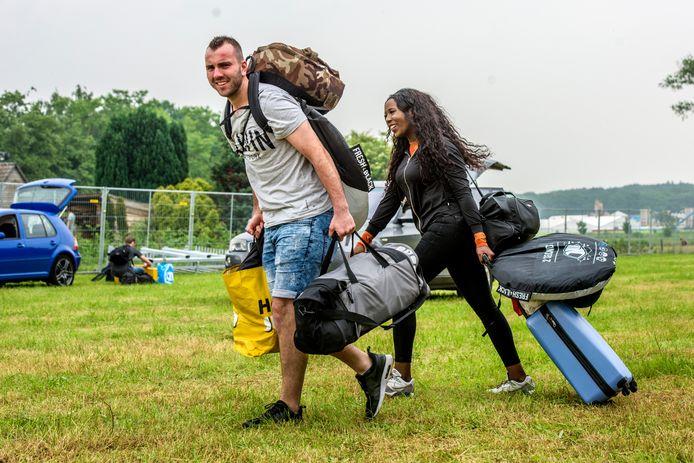Campinggasten van Intents Festival 2019.