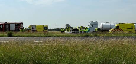Gewonde bij ongeval op A58 bij Kapelle