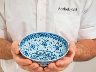 Porseleinen kom gekocht bij tuinverkoop levert meer dan 600.000 euro op