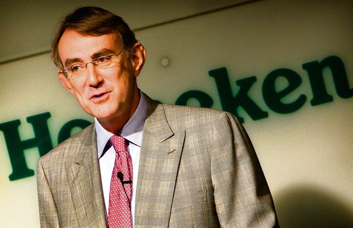 Heineken ceo Jean-Francois van Boxmeer leerde het biervak in de jaren '90 in Congo, waar hij onder meer algemeen directeur was. Daar knoopte hij ook een relatie aan met een promotiemeisje.