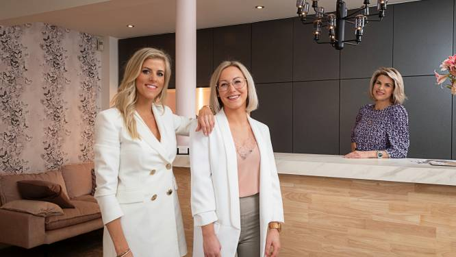 Met drietal maanden uitstel mogen Loremie en Sanne eindelijk hun schoonheidssalon voor het eerst openen, Tanja Dexters richtte het voor hen in