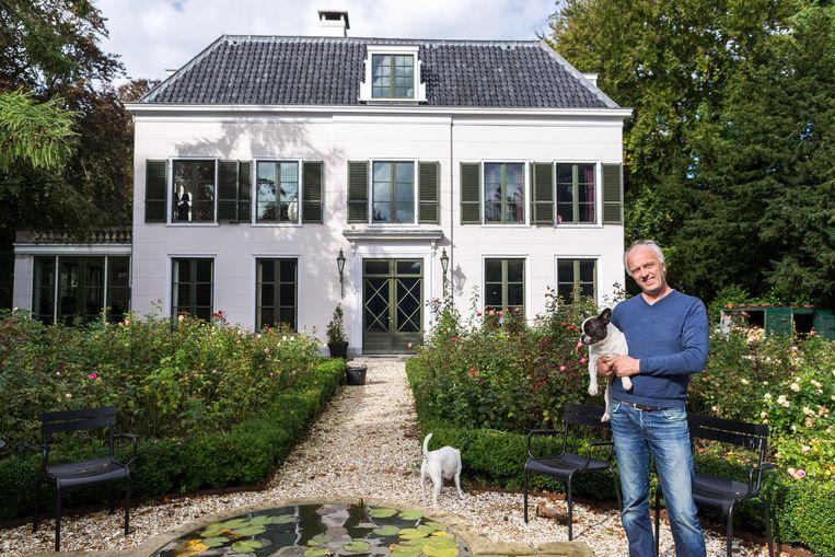 Rob Slewe raakte in conflict met de gemeente Bloemendaal. Beeld Rink Hof