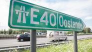 Tot 2,5 uur aanschuiven op E40 richting Gent na ongeval in Aalter: 4 gewonden