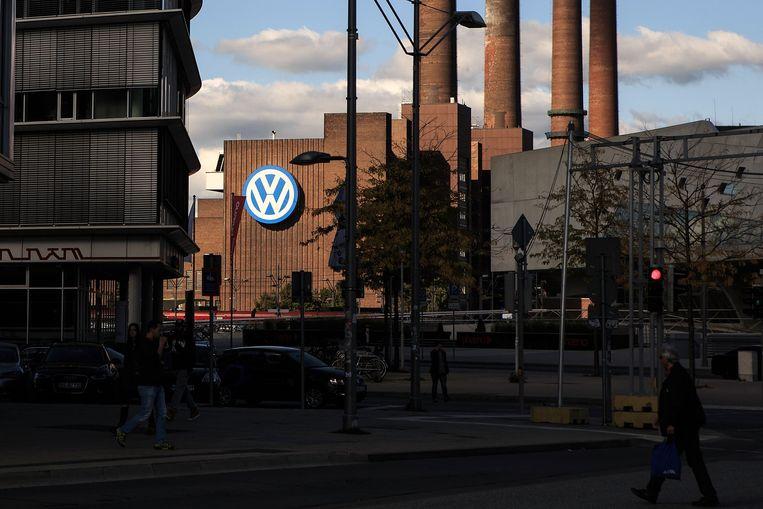 De fabriek van Volkswagen in Wolfsburg.  Beeld Getty Images