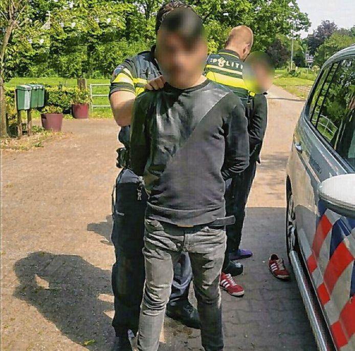 De politie had de inbrekers snel te pakken.