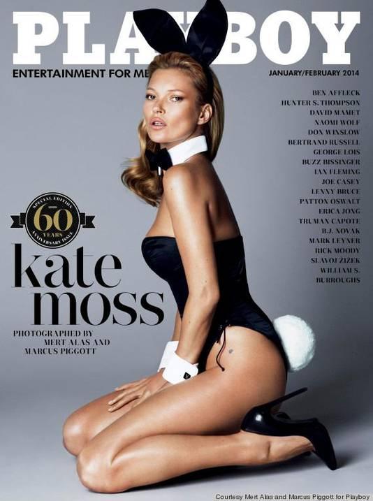 Parmi les couvertures mémorables, celle avec Kate Moss.