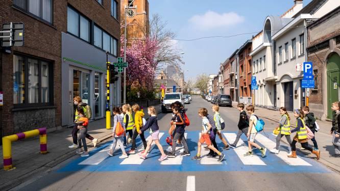 """Verkeerslichten moeten schoolomgevingen veiliger maken: """"Automobilisten stopten niet eens voor hele klas wachtende schoolkinderen"""""""