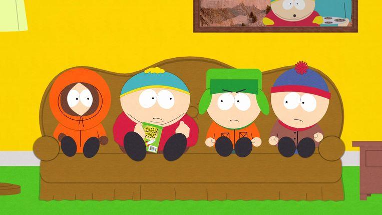 South Park - SERIE (USA-1997) Matt Parker, Trey Stone - generic - Caption: Kenny, Eric, Kyle, Stan Beeld TMDB