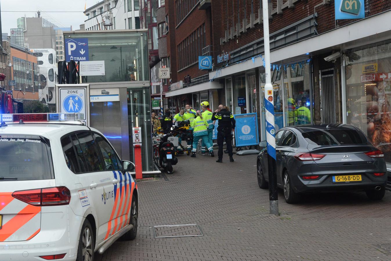 Twee gewonden bij een steekpartij in het centrum.