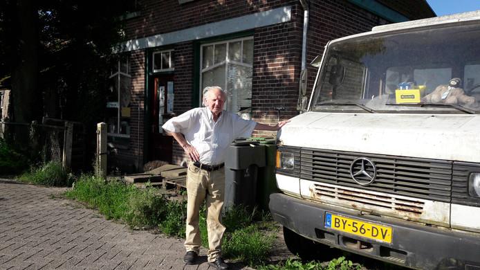 Kleis Zilverschoon werd tijdens de overval in zijn eigen winkel opgesloten.