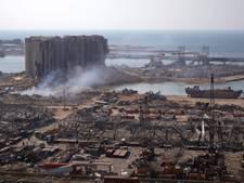 Zestien medewerkers haven Beiroet aangehouden na explosie