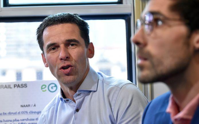 Jean-Marc Nollet (Ecolo) en Kristof Calvo (Groen).
