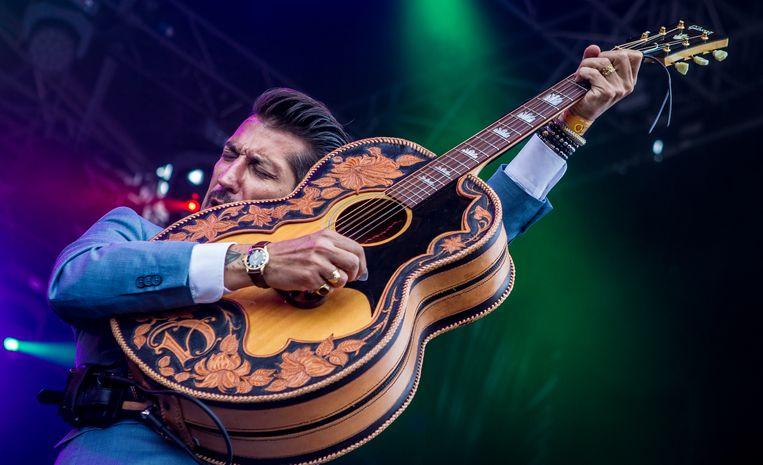 Danny Vera staat met zijn nummer Roller Coaster dit jaar op 1. Beeld ANP Kippa