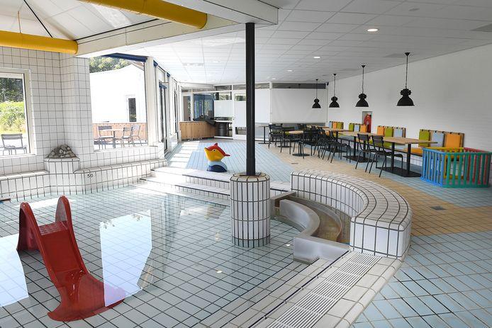 Het zwembad De Lubert in Groesbeek.
