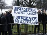 Wilders protesteert tegen 'dictator Erdogan'