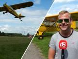 Steeds meer vliegtuigjes met boodschappen in de lucht