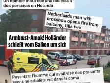 Almelo voor even wereldnieuws na dodelijk geweld: 'Armbrust-Amok'